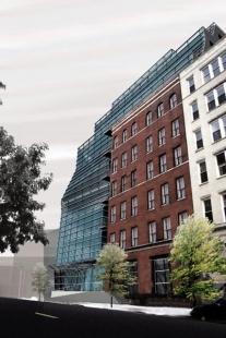 Greenwich Street Project - Vizualizace - foto: Archi-Tectonics