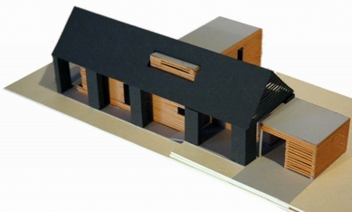 Rekonstrukce stodoly - Model