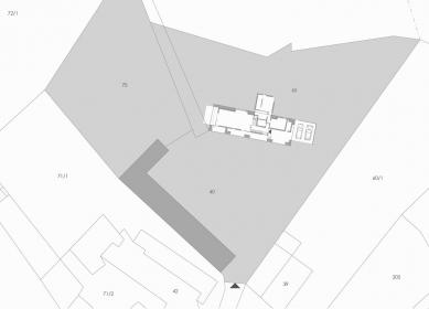 Rekonstrukce stodoly - Situace