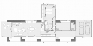 Rekonstrukce stodoly - 1NP