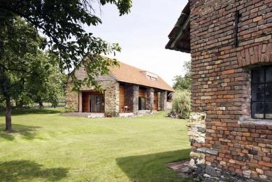 Rekonstrukce stodoly - foto: Vavřinec Menšl