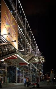 Centre Pompidou - foto: Martin Rosa, 2007, © archiweb.cz