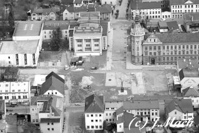 Rekonstrukce Náměstí Čs. armády, Hronov - Stavba - foto: Archiv autorů