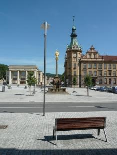 Rekonstrukce Náměstí Čs. armády, Hronov - foto: archiv autorů