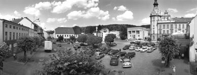 Rekonstrukce Náměstí Čs. armády, Hronov - Původní stav - foto: Archiv autorů
