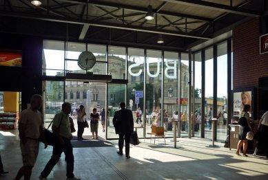 Dočasná odbavovací hala autobusového nádraží na Florenci - foto: archiv ateliéru