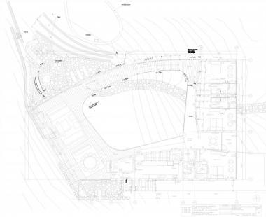 Dům O - Půdorys hlavního patra - foto: Toyo Ito and Associates, Architects