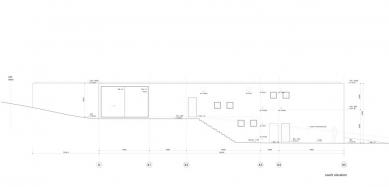 Dům O - Jižní pohled - foto: Toyo Ito and Associates, Architects