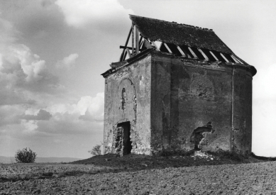 Obnova Kaple svatého Rocha - 1925 - foto: archiv autorů