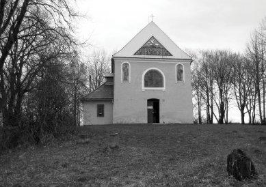 Obnova Kaple svatého Rocha - Původní stav - foto: archiv autorů