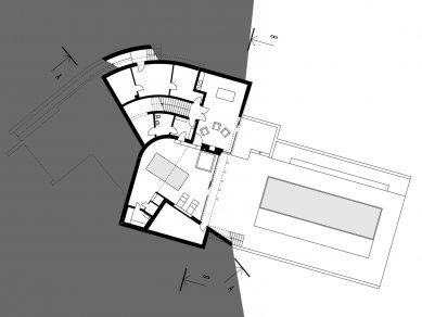 Rodinný dům Svinošice 02 - 1PP - foto: knesl + kynčl architekti