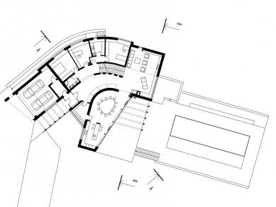 Rodinný dům Svinošice 02 - 1NP - foto: knesl + kynčl architekti