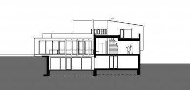 Rodinný dům Svinošice 02 - Řez BB - foto: knesl + kynčl architekti