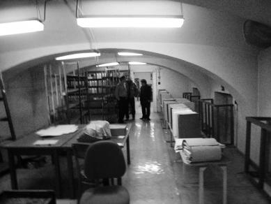 Knihovna Ústavního soudu - Původní stav