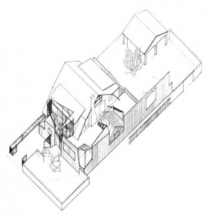 Dům Gehry - Axonometrie - foto: Frank O. Gehry & Associates, Inc.