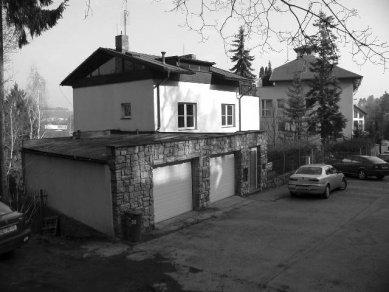 Vila Barrandov - Původní stav - foto: Archiv autorů
