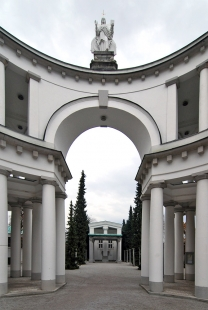 Hřbitov Žale - foto: Petr Šmídek, 2008