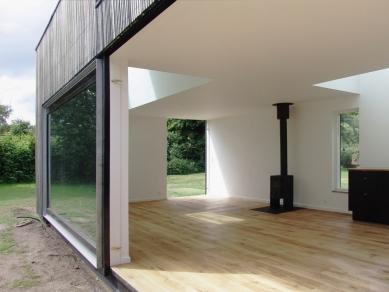 Dům Skybox - Posuvné okno - foto: Tina Krogager
