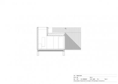 Dům Skybox - Řez A - foto: Primus architects, atelier + production