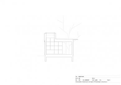 Dům Skybox - Řez B - foto: Primus architects, atelier + production