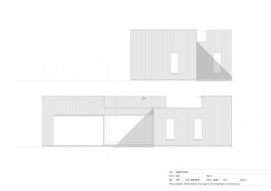 Dům Skybox - Východní a jižní fasáda - foto: Primus architects, atelier + production