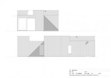 Dům Skybox - Západní a severní fasáda - foto: Primus architects, atelier + production