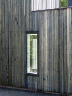 Dům Skybox - Severní fasáda - foto: Tina Krogager