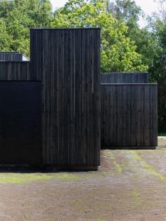 Dům Skybox - Západní fasáda - foto: Tina Krogager