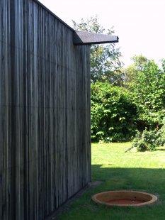 Dům Skybox - Střešní chrlič - foto: Tina Krogager