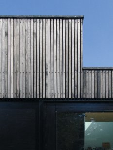 Dům Skybox - Detail fasády - foto: Tina Krogager