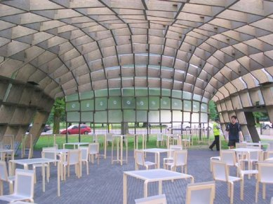 Serpentine Gallery Pavilion 2005 - foto: Pavel Nasadil, 2005