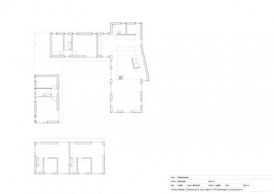 Dům Coop - Půdorys přízemí - foto: Primus architects, atelier + production