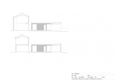 Dům Coop - Řez - foto: Primus architects, atelier + production