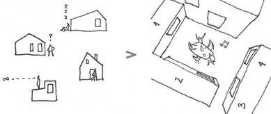 Dům Coop - Koncept - foto: Primus architects, atelier + production