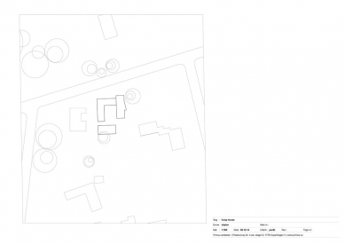 Dům Coop - Situace - foto: Primus architects, atelier + production