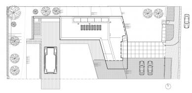 Dom zlomu - Situace - foto: paulíny hovorka architekti