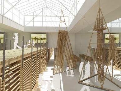 Přirozená architektura - Vizualizace - foto: e-MRAK