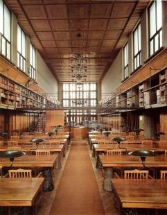 Slovinská národní a univerzitní knihovna - Hlavní čítárna