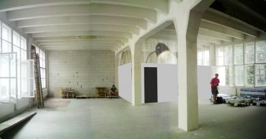 Vlastní prostory architektonického ateliéru Rala - Původní stav - foto: Archiv autorů