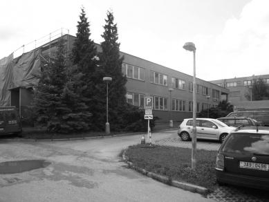 Digital Centre TV NOVA - Původní stav - foto: Archiv autorů