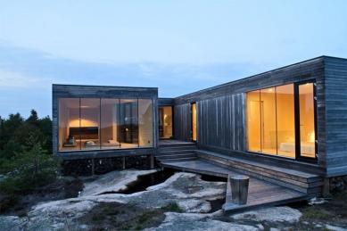 Letní dům na ostrově Hvaler - foto: Reiulf Ramstad Architects (Oslo), Kim Müller, Roberto Di Tran