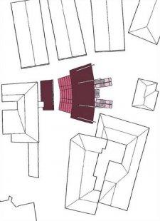 Dočasná divadelní tribuna - Situace - foto: nonconform