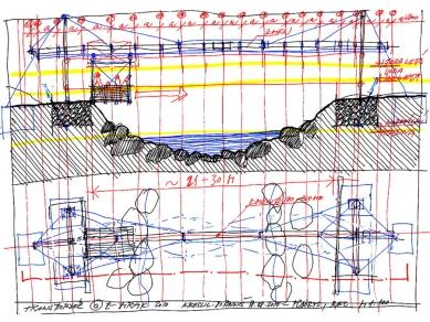 Povodňový transbordér 'Andělská hora' - foto: e-MRAK