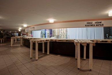 Architektura 14. ročníku MFDF Jihlava - Bar v DKO - foto: Michal Ureš