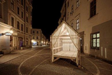 Architektura 14. ročníku MFDF Jihlava - Čajový pavilon - foto: Michal Ureš