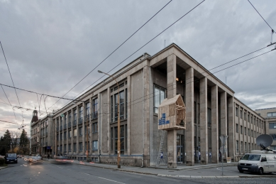 Architektura 14. ročníku MFDF Jihlava - Posed - foto: Michal Ureš