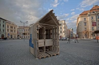 Architektura 14. ročníku MFDF Jihlava - Dvojlatrína - foto: Michal Ureš