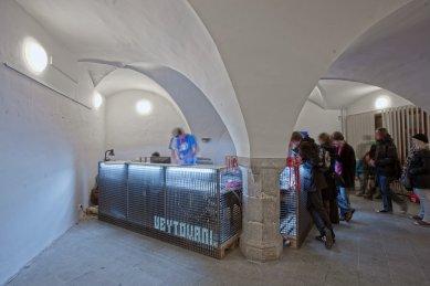 Architektura 14. ročníku MFDF Jihlava - Festivalové centrum - foto: Michal Ureš