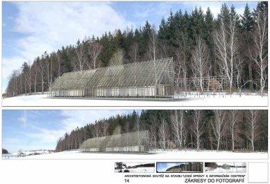 Správa lesů města Písku - Zákres do fotografie - foto: e-MRAK