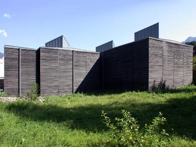 Shelters for Roman archaeological site - foto: Petr Šmídek, 2002